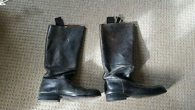 Genuine And Rare WW2 German Officers Leather Jack Boots • 200£