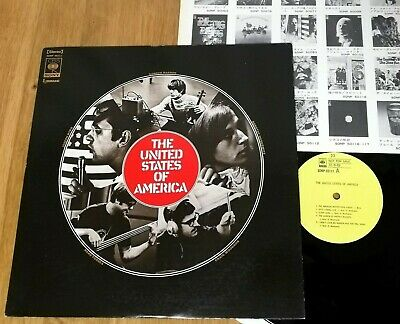 The United States Of America S/t - JAPAN 1968 PROMO - Vinyl LP SONP-50111 • 134.76£