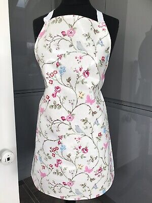 Adult/ladies Apron Cooking/craft Pvc Wipe Clean Bird/butterfly Design Ideal Gift • 8£