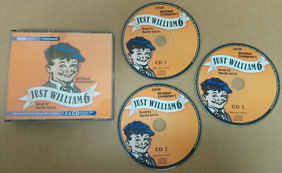 Just William : Vol. 6 By Richmal Crompton - CD-Audiobook - Read By Martin Jarvis • 6£