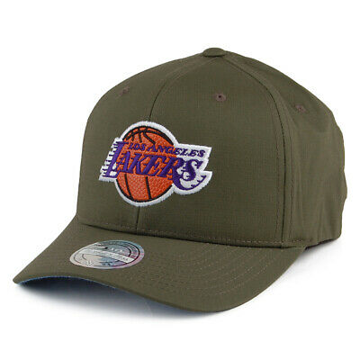 Mitchell & Ness L.A. Lakers Ripstop Snapback Cap - Battle - Army Green • 27.95£