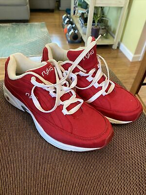 $ CDN31.40 • Buy RYKA Womens Red Sneakers Athletic Training Shoes Size 10W 10 W Used - Look
