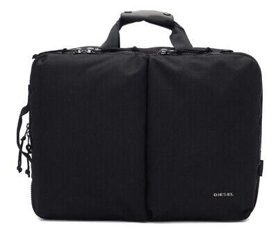Diesel Urbhanity Briefcase/Laptop Bag/Hand And Turns Backpack Bag Very Good Cond • 50£