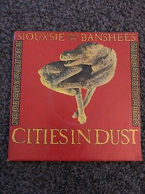 Siouxsie And The Banshees - Cities In Dust 7  Vinyl Single In Poster Bag • 10£
