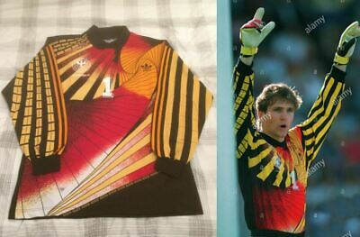 Rare Vintage Germany Goalkeeper Shirt Euro 1992 Illgner 1 Original Retro VGC XL • 239.95£
