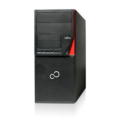 Fujitsu Esprimo P956 PC Intel Core I7-6700 3,4GHz 16GB RAM 256GB SSD + 1TB HDD • 250.90£