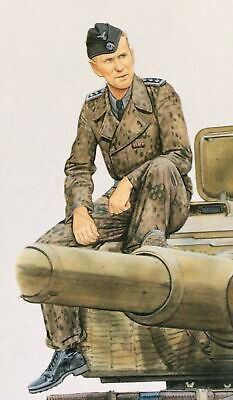 Dragon 1/35 Figure WW2 German Tiger Aces Panzer Crew - Single Figure FG04. • 4.29£
