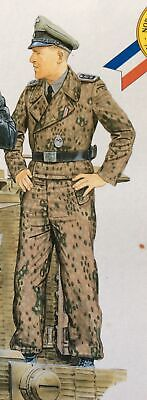 Dragon 1/35 Figure WW2 German Tiger Aces Panzer Crew - Single Figure FG08. • 4.29£