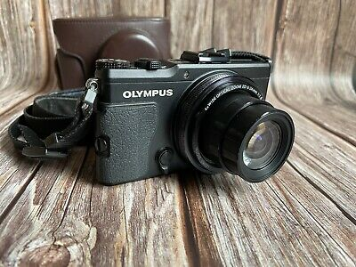"AU357.25 • Buy Olympus Stylus XZ-2 Compact Digital Camera + Leather Case ""Excellent Condition"""