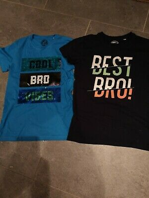 Blue Zoo Best Bro Boys T-shirts Age 11-12 • 3£