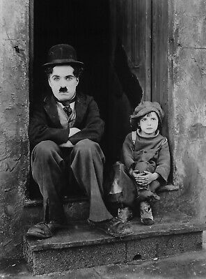 £6.99 • Buy Charlie Chaplin The Kid Reproduction Movie Photo Print Poster The Tramp A3 Or A4