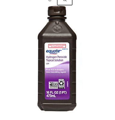AU14.56 • Buy Equate 3% Hydrogen Peroxide Antiseptic 16oz First Aid Cleaning Solution Topical