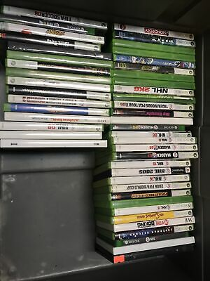 $ CDN47 • Buy Lot Of 47 Xbox 360 PlayStation Wii Game CDs