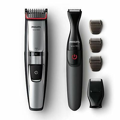 AU189.89 • Buy Philips Beard & Stubble Trimmer/Shaver For Men, Series 5000, 17 Length Settings