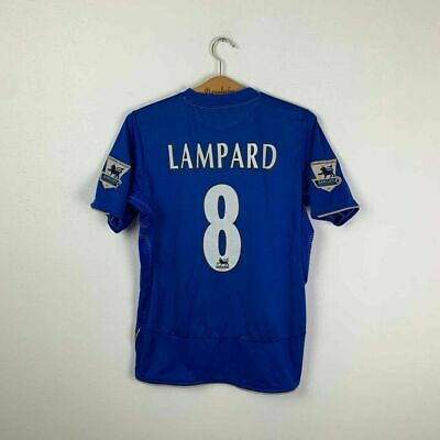 Chelsea Home Football Shirt 2005/2006 #8 Lampard Vintage Soccer Jersey Size S • 32.22£