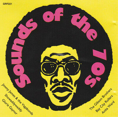 SOUNDS OF THE 70'S - Various - 24 Track CD Album • 1.99£
