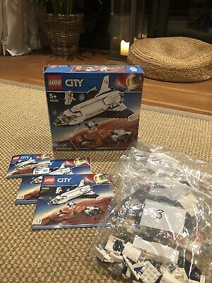 Lego City 60226 Mars Research Shuttle Spaceship Age 5+ • 5.40£