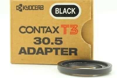 $ CDN239.53 • Buy [ Mint In Box ] Contax Adapter Filter Black 30.5mm For Contax T3 From JAPAN #265