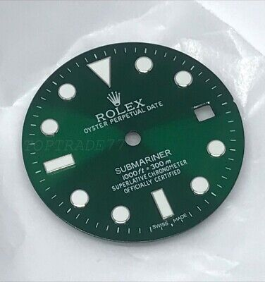 $ CDN91.36 • Buy Aftermarket Replacement HULK Dial For Rolex Submariner 116610 Fit 2824 2836 2813