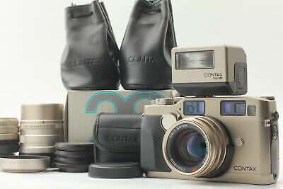 $ CDN3270.65 • Buy [MINT] Contax G2 Camera Body + 28mm 45mm 90mm Lens + TLA 200 Flash From JAPAN