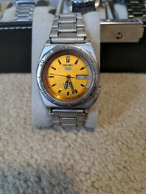 $ CDN110 • Buy Seiko 5 Sports Mens Automatic Watch. Water Resistant. Good Condition, Authentic