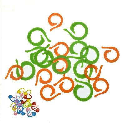 £2.35 • Buy Crocheting Markers Set 53Pcs Stitch Plastic For Knitting Sewing Cable Needles