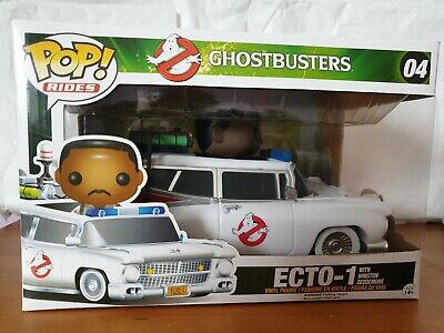 Ghostbusters Ecto-1 With Winston Zeddemore Funko POP Vinyl Ride Vaulted  • 36.99£
