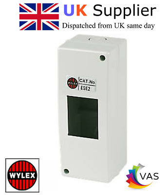 £7.95 • Buy  Wylex 2 Insulated Enclosure Module ( Fits Ring Door Bell Transformer )