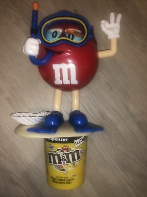 LARGE M&M'S SWEET DISPENSER DEEP SEA DIVER - Collectors • 9.99£