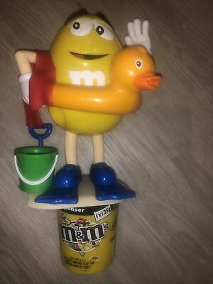 LARGE M&M'S SWEET DISPENSER RUBBER DUCKY - Collectors • 9.99£