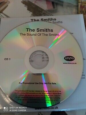 Morrissey The Smiths Rhino Sound Of The Smiths 2x Promo Cds • 8£