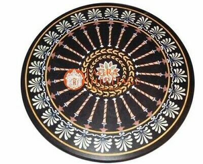 AU2326.03 • Buy 36  Beautiful Elegant Marble Round Dining Bedroom Table Top Inlay Design H5668