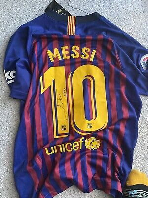 AU500 • Buy Messi Signed Jersey