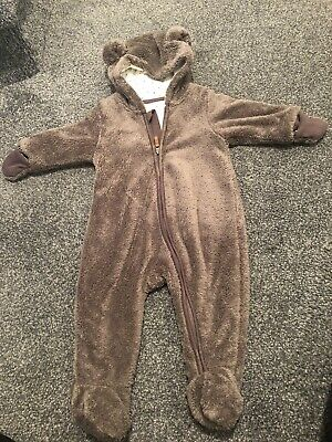 Gorgeous Baby Bear Suit  4-6 Months • 7£