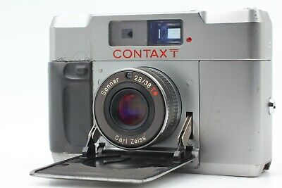 $ CDN462.41 • Buy [OPTICAL MINT] CONTAX T Silver Rangefinder 35mm Film Camera Body Only From JAPAN