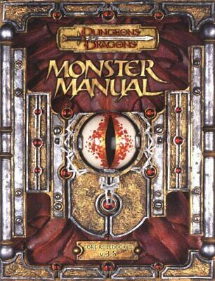 AU67.94 • Buy Dungeons & Dragons: Monster Manual 3.5 By Tweet, Jonathan 078692893X The Cheap