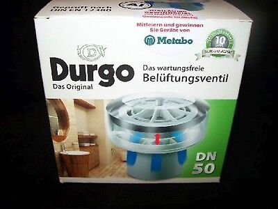 £61.74 • Buy Durgo Ventilation Valve Dn 50 For The Usage From 1 To 4 Bath Tubs With Isolation