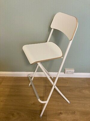 IKEA Franklin Folding Bar Stools X 4 Excellent Condition • 40£