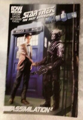Star Trek The Next Generation Doctor Who Assimilation #6 Oct 2012 IDW 1st Print  • 5£