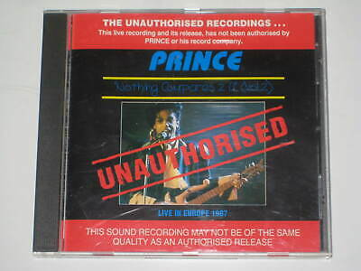 PRINCE-LIVE IN EUROPE 1987 NOTHING COMPARES 2 U Vol.2 CD 1993 SIGN O THE TIMES • 5.50£