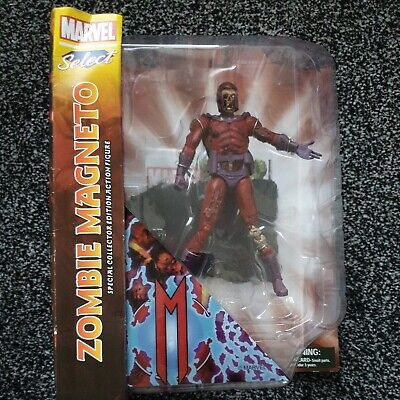 Zombie Magneto Marvel Select Villain Zombies Action Figure - UK Seller • 12.50£