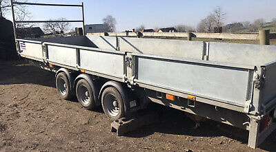 18ft Ifor Williams Flatbed Dropside Trailer  • 4,500£