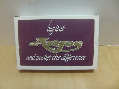 AU8.98 • Buy Buy It At Argos And Pocket The Difference C 1970s Sealed Playing Cards In Box