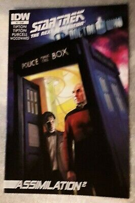 Star Trek The Next Generation Doctor Who Assimilation #5 Sept 2012 IDW 1st Print • 11.95£