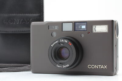 $ CDN2911.10 • Buy [MINT In CASE] Contax T3 D Black Double Teeth 35mm Point & Shoot From JAPAN