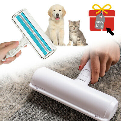 £6.89 • Buy Pet Hair Remover Sofa Clothes Lint Cleaning Brush Reusable Dog Cat Fur Roller