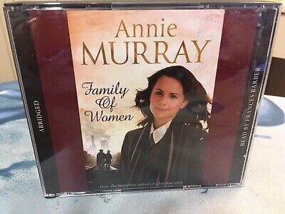 ANNIE MURRAY FAMILY OF WOMEN AUD CDx3 NEW/UNPLAYED Read By FRANCES BARBER 2010 • 3.99£