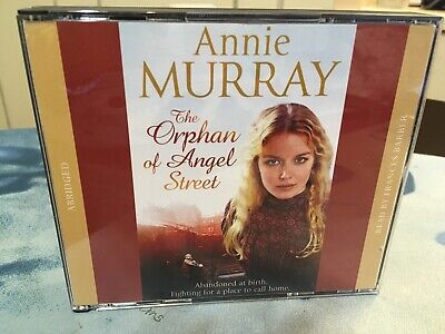ANNIE MURRAY THE ORPHAN OF ANGEL STREET AUD CDx3 NEW/UNREAD • 3.99£