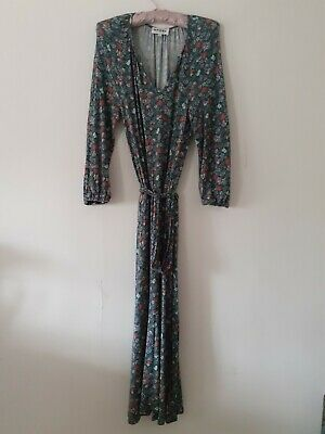 Brora Liberty Print Jersey Dress Size 8 • 38£