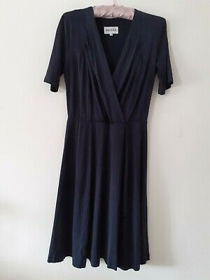 Brora Navy Blue Dress Size 8 • 38£